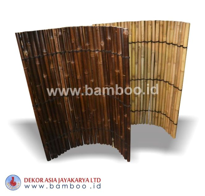 Full Round Roll Bamboo Fences